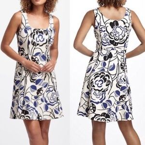 VANESSA VIRGINIA Anthropologie Ink-Set Bloom Dress